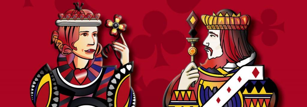 Concours de belote organisé jeudi 19 février 2015 au casino de Biscarrosse, dans les Landes (40).