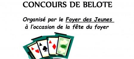 Concours de belote 31