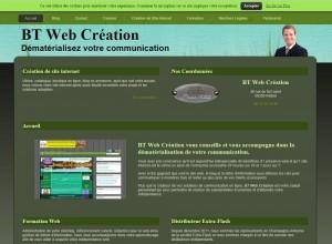 BT Web Création: agence web ardennaise créatrice du site www.concours-de-belote.fr