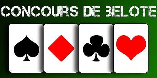 Concours de belote samedi 7 novembre 2015 à Chambry – Aisne