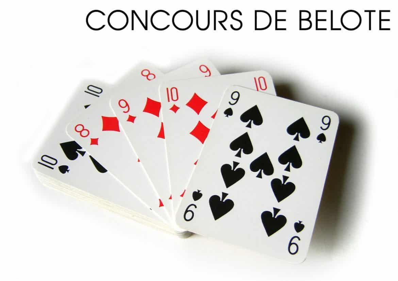 Concours de Belote le 1er juillet 2016 à Bajamont – Lot & Garonne