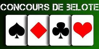 Concours de belote le 16 octobre 2016 à Bouxières sous Froidmont - 54